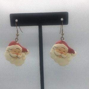 4 for $12: Santa Claus Earrings